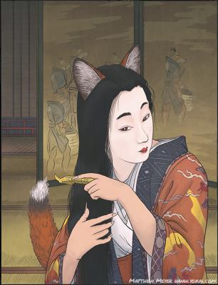 Тамамо-но Маэ. Иллюстрация Мэтью Мэйера