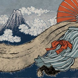 "Тануки. Иллюстрация Юко Шимизу для проекта ""Beware of the Yokai!"" от Discovery Channel"
