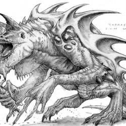 Игровой Тарраск. Иллюстрация Сэма Вуда