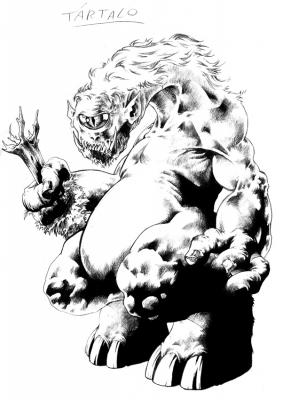 Тартало. Иллюстрация Давида Гарсия