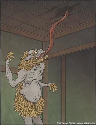 Тэндзёнамэ. Иллюстрация Мэтью Мэйера