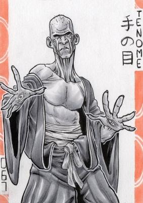 Тэ-но мэ. Иллюстрация Лукаса Перейры