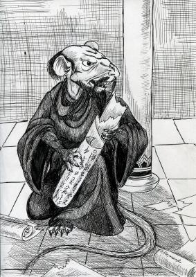 Тэссо. Рисунок Натальи Немченко