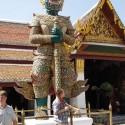 Ракшас-охранник. Статуя