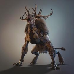 """Бес на концепт-арте к игре """"Ведьмак III (Witcher III)"""""""