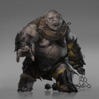 Каменный тролль. Иллюстрация Джоша Корпуза