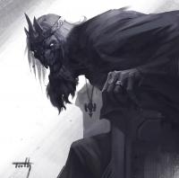 Кощей Бессмертный. Иллюстрация У Цинхао