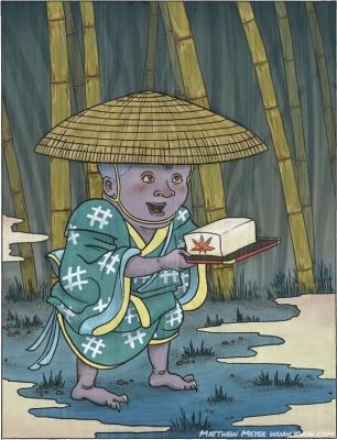 Тофу-кодзо. Иллюстрация Мэтью Мэйера