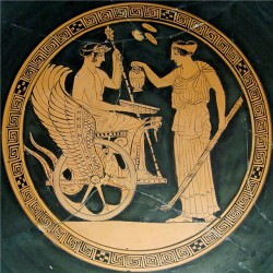 Триптолем и Деметра, Лувр, 5 век до н.э.