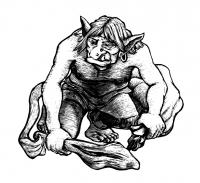 Тролли. Иллюстрация Мерли Инсинга