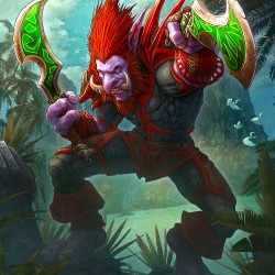 """Тролль. Иллюстрация Керема Бийта к игре """"World of Warcraft"""""""