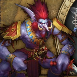 """Тролль из игры """"World of Warcraft"""""""
