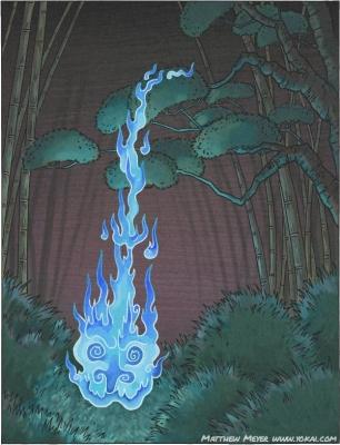Цурубэ-би. Иллюстрация Мэтью Мэйера