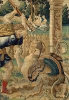 Геракл сражается с драконом в саду Гесперид. Карина Виллема Дермойена