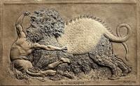 Барельеф с изображением Тараска