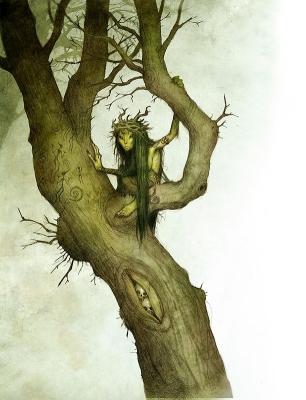Аскефруа. Иллюстрация Юхана Эгеркранса