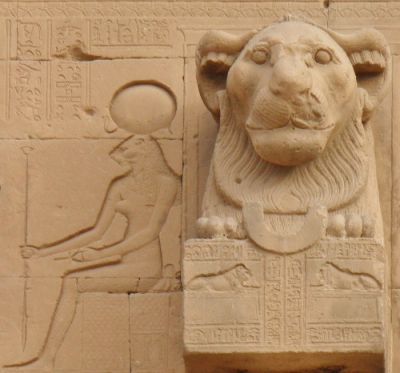 Львиноголовая богиня. Храм Хатхор в Дендере
