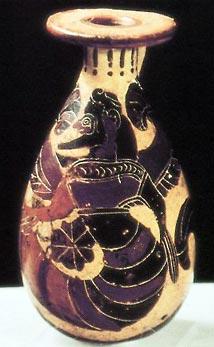 """Тифон"". Греческая ваза, 600 год до н.э."