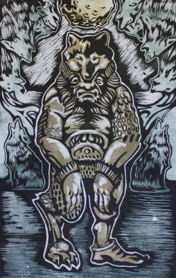 Волколак. Иллюстрация Кирилла Сидорова