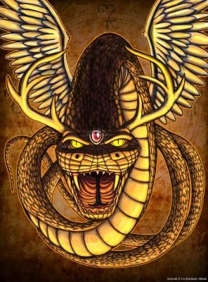 Уктена. Современный рисунок от Kim Ravenfire