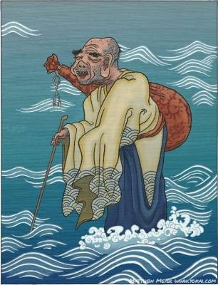 Уми-дзато. Иллюстрация Мэтью Мэйера
