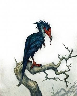 Импундулу. Иллюстрация Юхана Эгеркранса