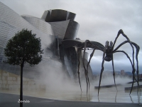 """""""Мама"""". Статуя гигантского паука (Бильбао, Испания)"""