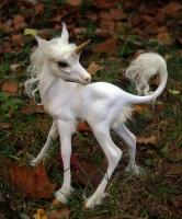 Детеныш единорога. Скульптура Ребекки Уэйк
