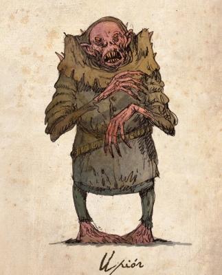 Упырь. Рисунок Павла Зыха (Paweł Zych)