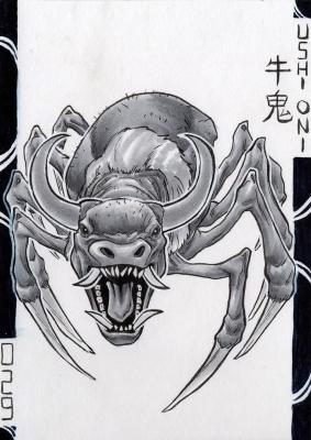Уси-они. Иллюстрация Лукаса Перейры