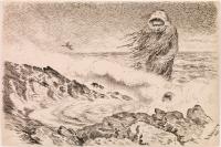 Морской тролль (Sjøtrollet). Иллюстрация Теодора Киттельсена, 1887