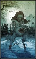 Бабице (Babice), она же Богинка, Мамуна. Рисунок Ваньи Тодорича