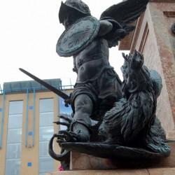 Василиск. Фрагмент оформления колонны Св. Марии — покровительницы Баварии