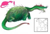 """Пелюда. Иллюстрация с сайта """"A Book of Creatures"""""""