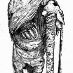 Вий. Рисунок Алексея Монжалея