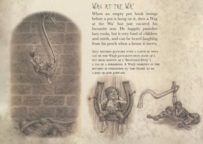 """Вагатева. Иллюстрации Виржинии Ли из книги """"Потаенные истории: Хобгоблины"""""""