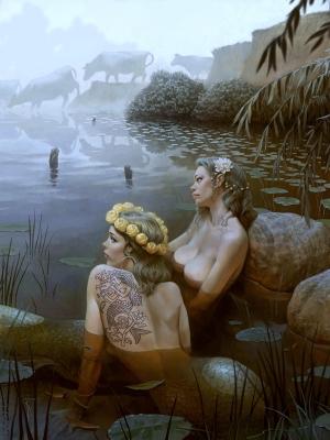 Духов день. Иллюстрация Вальдемара Казака