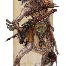 Вендиго. Иллюстрация Кейта Томпсона