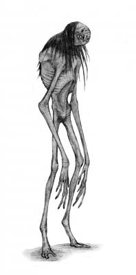 Вендиго. Рисунок Алексея Монжалея