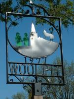Знак на въезде в деревню Вулпит
