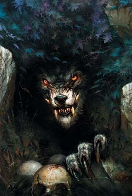 """Проклятие воргенов. Иллюстрация Вея Ванга к игре """"World of Warcraft"""""""