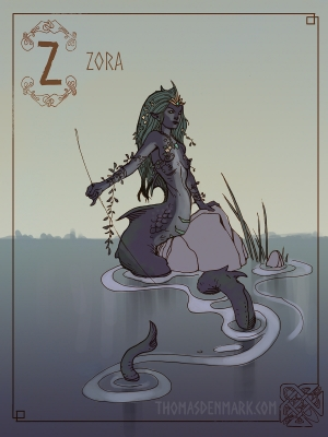 Сьёра. Иллюстрация Томаса Денмарка