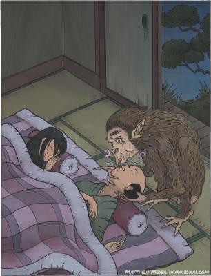Яматити. Иллюстрация Мэтью Мэйера