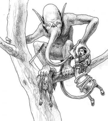 Яматити. Иллюстрация Джей-Ди Дэниэла (ehime)