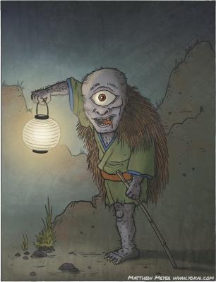 Яма-дзидзи. Иллюстрация Мэтью Мэйера
