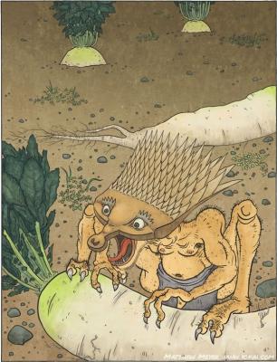 Ямаороши. Рисунок Мэтью Мэйера