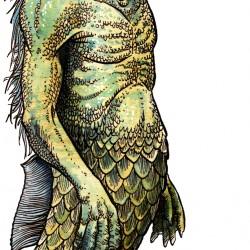 Нингё. Иллюстрация Ричарда Свенссона