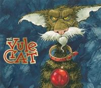 Йольский кот (Jólakötturinn). Иллюстрация (обложка книги) Брайана Пилкингтона