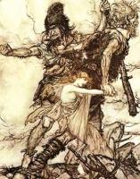 Етуны похищают богиню Фрейю