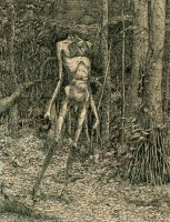 "Йоалтепузтли (Youaltepuztli). Рисунок Курта Комода (Kurt ""TickleMeCthulhu"" Komoda)"
